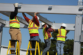 We send technicians to your jobsite for your easy installation 01-